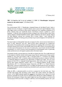 ISPC Commentary on the Revised Proposal for CRP 1.2 - February 2012