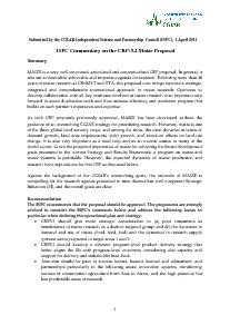 ISPC Commentary on the Proposal for CRP 3.2 - April 2011