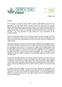 ISPC Commentary on the Proposal for CRP 3.3 - July 2010