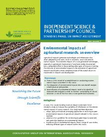 Environmental Impacts of Agricultural Research: An Overview. Brief Number 37