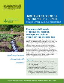 Environmental Impacts of Agricultural Research: Brief Number 38