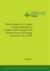 Impact Analysis Methods for Ex-post IAs of Agricultural Technology