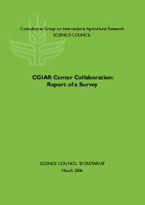 CGIAR Center Collaboration: Report of a Survey