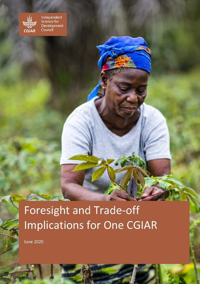 Cover of Foresight and Trade-off Implications for One CGIAR