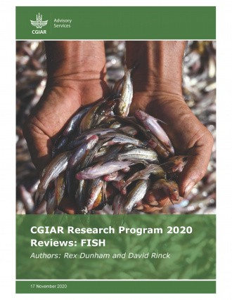 Cover: Small fish for nutrition, Cambodia. Worldfish/N. Palmer